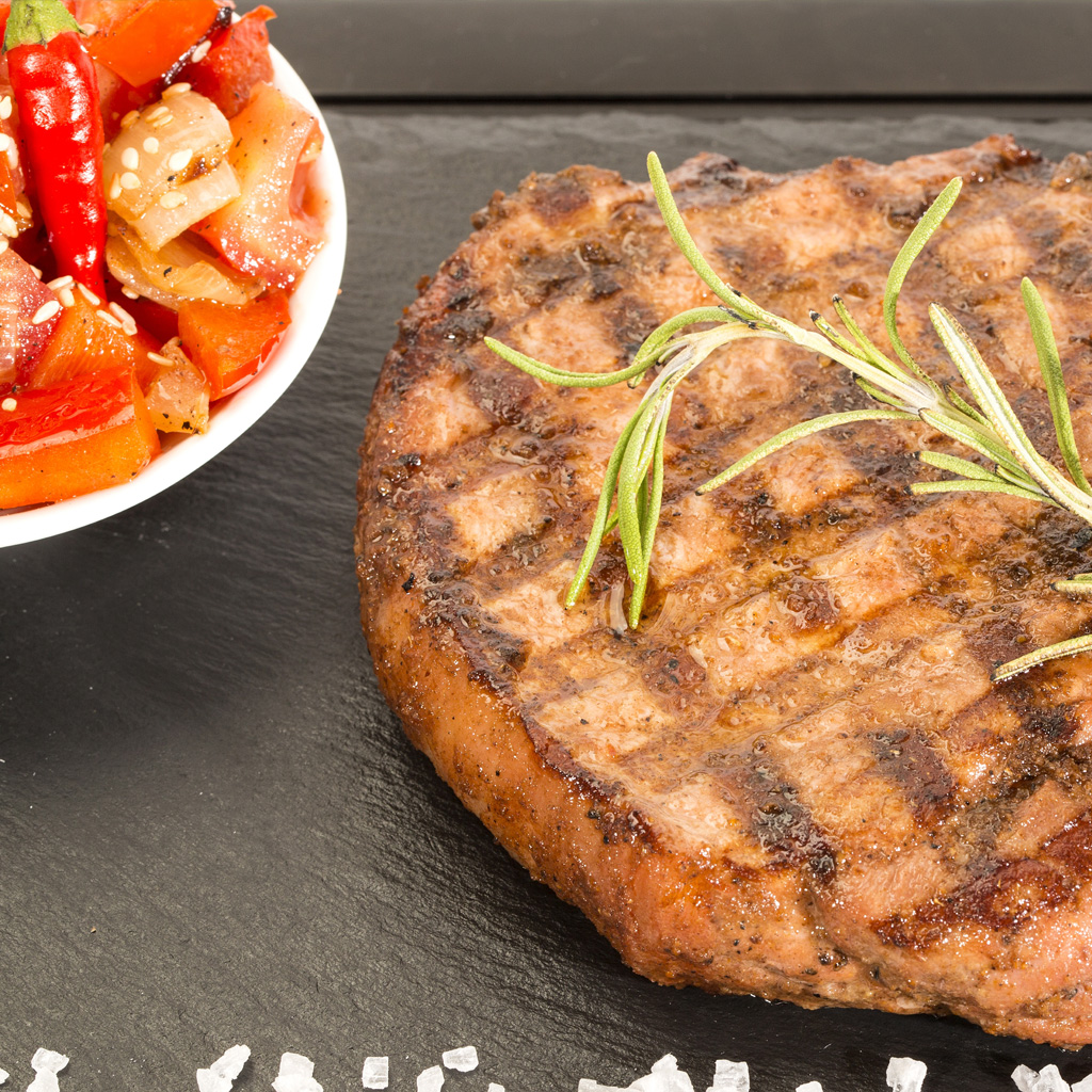 Best Grilled Pork Chops with Cherry Salsa | Natural Grocers