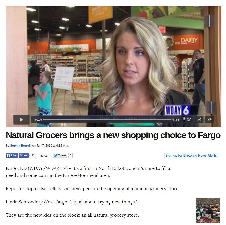 Fargo Natural Food Store